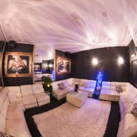 A private room in a lap dancing club