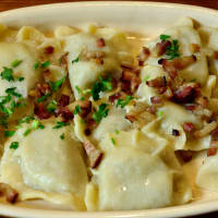 Traditional Pierogi Meal