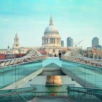 Millennium Bridge - St Paul