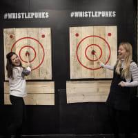Whistle Punks Urban Axe Throwing