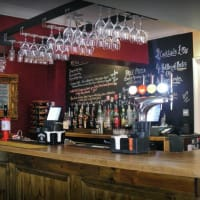 Commercial hotel bar
