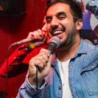 Riga Bar Crawls Karaoke Bar Stag singing