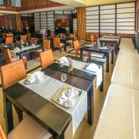 sushi bar - interior
