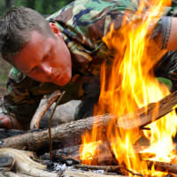Starting a Fire, Into the Wild - Elite Survival Training