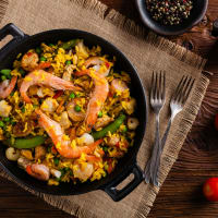 Spanish Paella Meal - 2 Courses