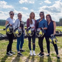 Hen Group Karting in Riga, Chillisauce staff