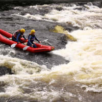 White Water River Duckie Kayaks