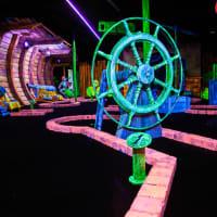 Powerzone - Glow Golf course