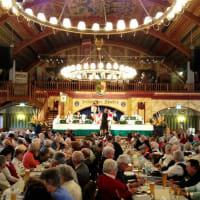 Hofbrauhaus - Munich - interior of restaurant - 2