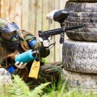 Outdoor Paintball - 2 Hours