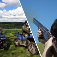 Clay Shooting & Quad Trek - 9 Mile
