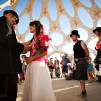 Extreme Wedding Destinations - Burning Man