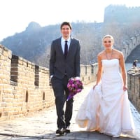Wedding on the Great Wall of China
