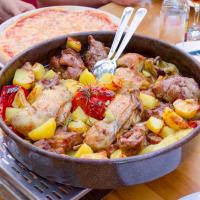 Traditional Croatian Meal, Peka Dish, Meal