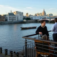 Balcony River View OXO2, London, Venue Hire