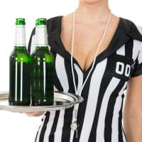 Sexy Female Referee, Hot Hostess