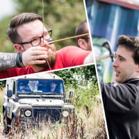 Blind 4x4 Driving, Axe Throwing & Archery