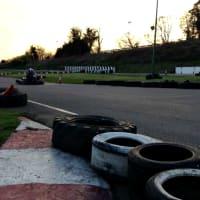 Surbiton raceway - Outdoor track sunset