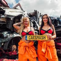 CARSMASH BIKINI BABE - Amsterdam