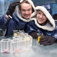 Ice Bar Couple