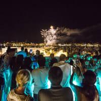 Rio Ibiza evening fireworks
