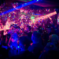 Maxxim Club Berlin confetti during busy night