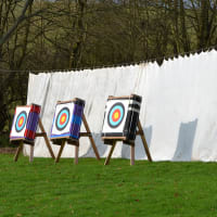 Polowood Shooting Ground archery stands