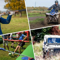 Quads, Blind Driving, Clays & Human Table Football