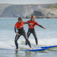Surfing Lesson