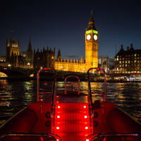 Exclusive Thames Lates Speedboat Experience