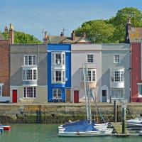 Weymouth Harbour Houses