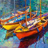 Seaside Art Boats