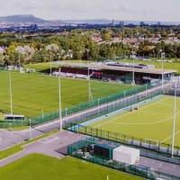 Queen's Sport arial view