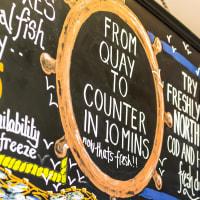 Fish Quay - Sign