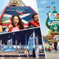 Dubai Parks & Resorts 2 Days Pass