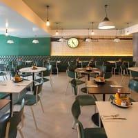Byron burgers cambridge interior