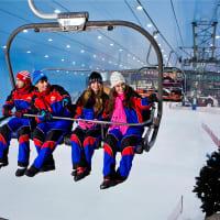 Ski Dubai Polar Express