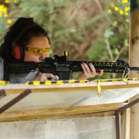 Max Event Target Shooting Hen Group Bournemouth FAM Trip CHILLISAUCE