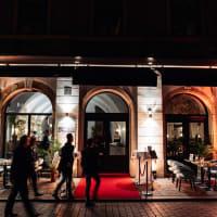 Baroque Restaurant entrance