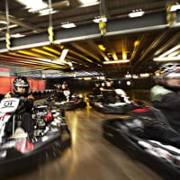 indoor go karting flip