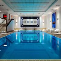 Warsaw Marriott Hotel - Spa Swimming Pool area