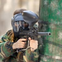 Outdoors Paintball Female