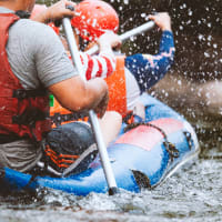 White Water Rafting Stag