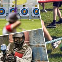Paintball, Human Table Football & Archery