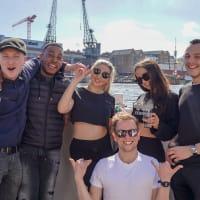 Bristol fam trip boat tour