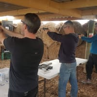 Air Pistol Target Shooting
