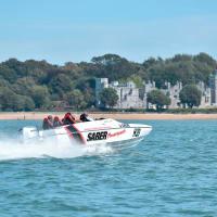 Honda F150 Race Boat