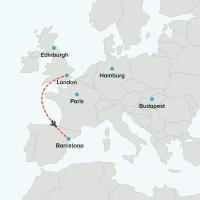 Flight London to Barcelona