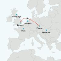 Flight London to Prague