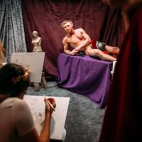 Roman Nude Life Drawing